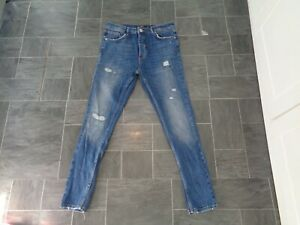 mens metissier paris ripped jeans-from foot asylum-size 34 w 30 L