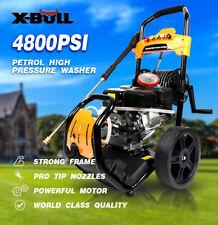 Pressure Washer 4800PSI 6.5HP Gas with Power Spray Gun 4-Stroke 5 Nozzles