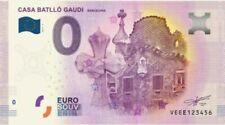 Billets euro d'Espagne