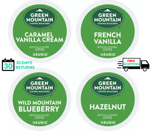 Green Mountain Flavored Variety Coffee Pack Keurig K-cups YOU PICK THE SIZE