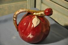 Vintage Collectible Alpho 330 Fruit Decanter Bottle Pottery
