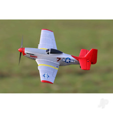 Eachine Mini Mustang P-51D RTF 2.4G 6-Axis Gyro 2 lipo & Charger RC Airplane