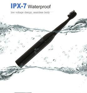 Electric Rechargeable Toothbrush Ultrasonic Washable IPX Waterproof Teeth Brush