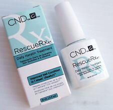 CND Essential Treatments - Rescue Rxx Nail Polish, Daily Keratin Treatment 15ml