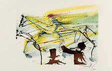 Le Cheval de Course -Race Horse - Les Chevaux de Dali by Salvador Dali Art Print