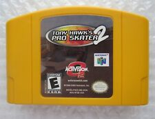 Tony Hawk's Pro Skater 2 (Nintendo 64) N64 Authentic Yellow Cart GREAT SHAPE!!