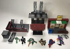 Mega Bloks Marvel Amazing Spider-Man Lot of Sets And Figures.