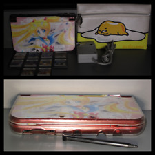 Nintendo 3DS XL Salor Moon-10 Games&Case+Clear Cover+Screen Protector+OG Stylus
