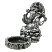 Japanese Style Elephant God Tealight Holder for Zen Garden Sand DIY Decor