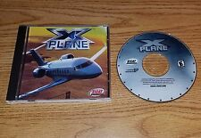 X-Plane (PC, 2000) windows flight simulation game