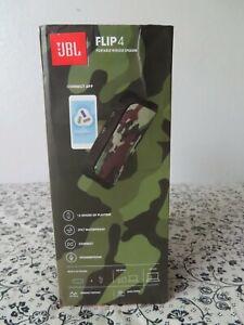 JBL FLIP 4 Camouflage Portable Bluetooth Speaker