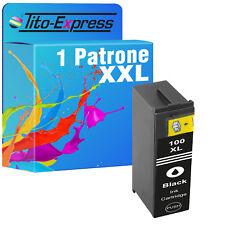 1x Druckerpatrone XXL für Lexmark 100 XL Black Schwarz