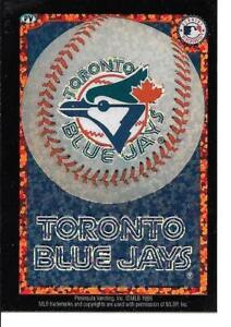 Toronto BLUE JAYS Baseball Vintage Sticker MLB Merchandise