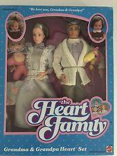 The Heart Family Grandma And Grandpa Gift Set Mattel Barbie Vintage