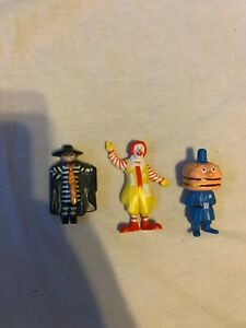 1985 McDonalds Happy Meal Toys ( Ronald Officer Big Mac Hamburgerler) *Rare* CAD