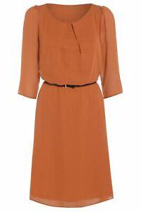 Women's Love2dress Light Weight Belted Flowy Chiffon Dress