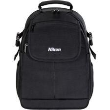 NEW NIKON COMPACT BACKPACK BLACK DSLR 5 LENSES FLASH TEAR RESISTANT CAMERA BAG
