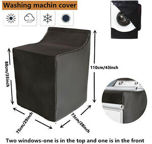 "Washer/dryer Machine Protect Cover Dustproof Waterproof Sunscreen W29""D28""H43"""