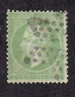 France stamp #23, used, 1862 - 1871