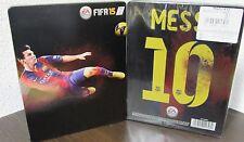 CUSTODIA METAL BOX STEELBOOK FIFA 15 MESSI 10 PS3 PS4
