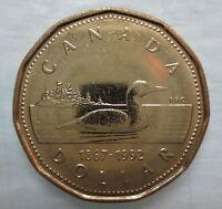 CANADA 1992 LOONIE BRILLIANT UNCIRCULATED DOLLAR COIN