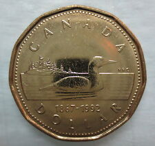 CANADA 1992 LOONIE BRILLIANT UNCIRCULATED DOLLAR COIN