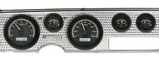 1970-81 Pontiac Firebird Black Alloy & White Dakota Digital Analog VHX Gauge Kit