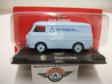 "Alfa Romeo Romeo 2 ""AUTODELTA"", 1956, light blue, RCS 1:43, OVP"