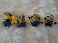 Despicable Me Minions McDonalds Toy Lot of 4 Figures  Jail