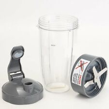 Replacement Extractor Blade +Tall Cup +Flip Lid for NutriBullet Juicer 32 oz