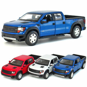 Ford Raptor F-150 Pickup Truck 1/32 Model Car Diecast Gift Toy Vehicle Kids