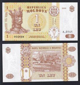 Moldavia 1 leu 2006 FDS/UNC  C-07