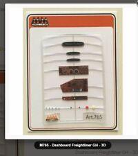Max Model #765  FREIGHTLINER FLC 3D Dashboard and emblems  1/24