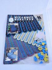 Mile a Minute Marathon Afghans Crochet Pattern Book Annie's Attic