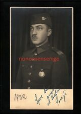 SPAIN GENERAL FRANCO ? EARLY DAYS IMAGE REAL PHOTO POSTCARD 1932 - SP75