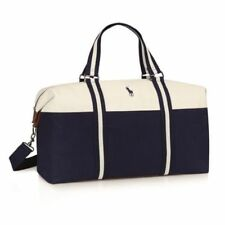 106f1178ae22 Ralph Lauren Polo Mens Weekend Holdall Duffel Sports School Gym Travel Bag