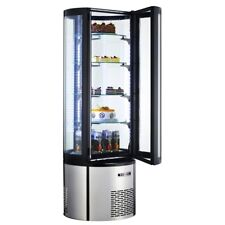 Marchia Mvsr400, 69? Refrigerated Vertical Curved Glass Cake Display Case