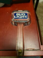 Bud Light Vintage Acrylic Logo Beer Tap Handle - 7� Tall - two-sided Budweiser