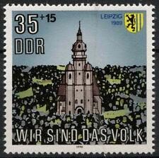 Alemania Oriental Ddr 1990 Sg #e 3011 Iglesia San Nicolás Mnh #a 82363