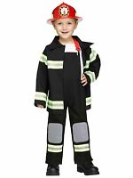 Fire Chief Fireman Firefighter Toddler Costume
