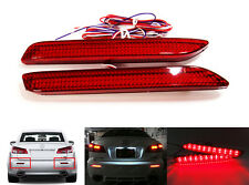 Red Lens 21 SMD LED Rear Bumper Reflector for TOYOTA LEXUS Tail Brake Stop Light