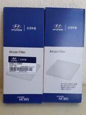 Genuine Hyundai Getz a pair of Aircon filters ( Cabin pollen filters ).