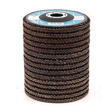 """15pcs Disques a lamelles pour meuleuses - Diametre 4.5"""" 115 mm, Grain 40 60 80"""