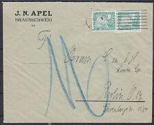 DR Mi Nr. 372 MeF Fernbrief Braunschweig - Berlin 1925