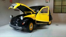 G LGB 1:24 Scale Citroen 2CV Charleston 1982 Welly Diecast Detailed Model Yellow