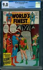 World's Finest Comics #184 CGC 9.0 OW/WH