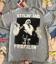 """Ric Flair """"Stylin' and Profilin'"""" T-Shirt WWE/WWF/WCW Legends Small Nature Boy"""