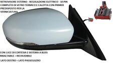 SPECCHIO RETROVISORE DESTRO 802389 LAND ROVER EVOQUE 2011 AL 2014 10 PIN ELETT