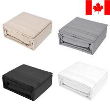 LivingBasics® 2100 Thread Count 4 pcs Bed Sheet Set Deep Pocket With Pillowcase