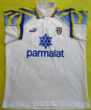 4.5/5 PARMA AC Calcio 1995~1997 Football Jersey Shirt Maglia Home parmalat Puma